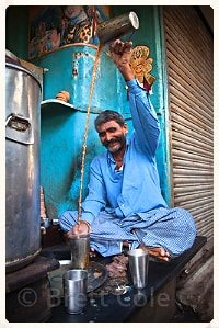 Kasa Indian Eatery - Man making Chai